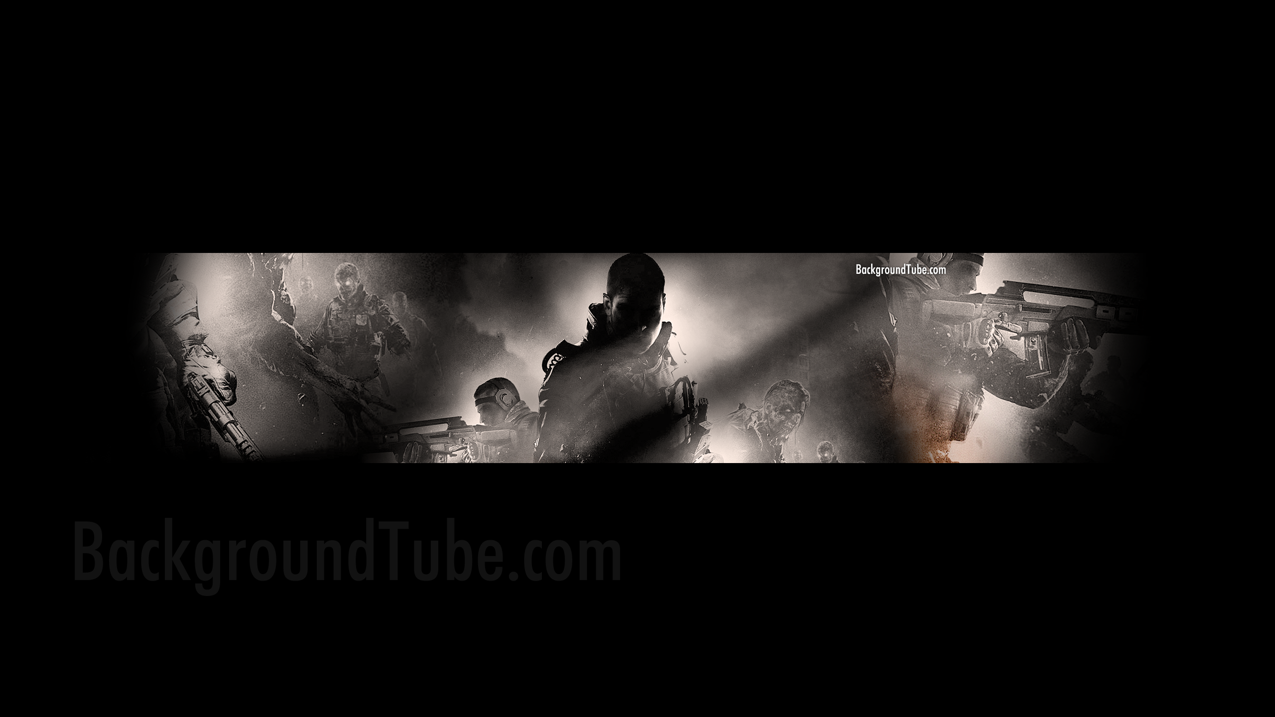 Gaming Youtube Channel Art Template Ops 2 youtube channel art 2560x1440