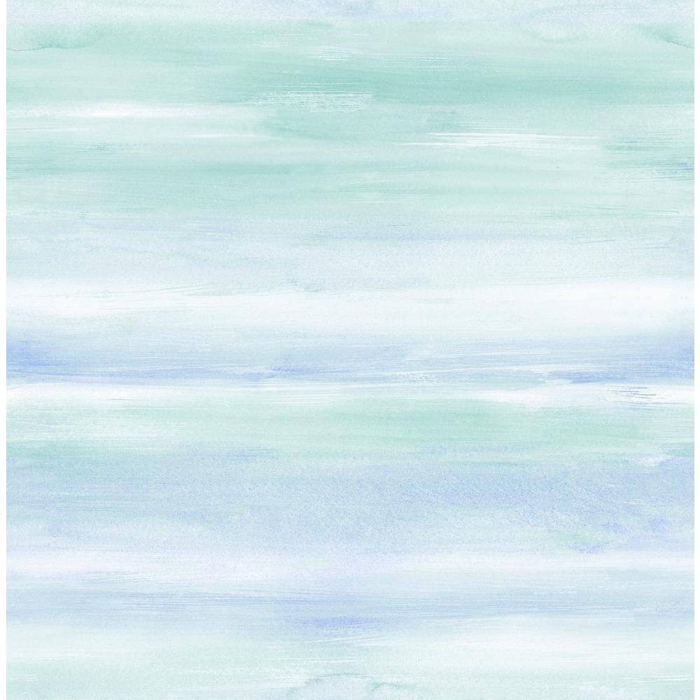 Seabrook Designs Kids Periwinkle and Teal Watercolor Wash 1000x1000