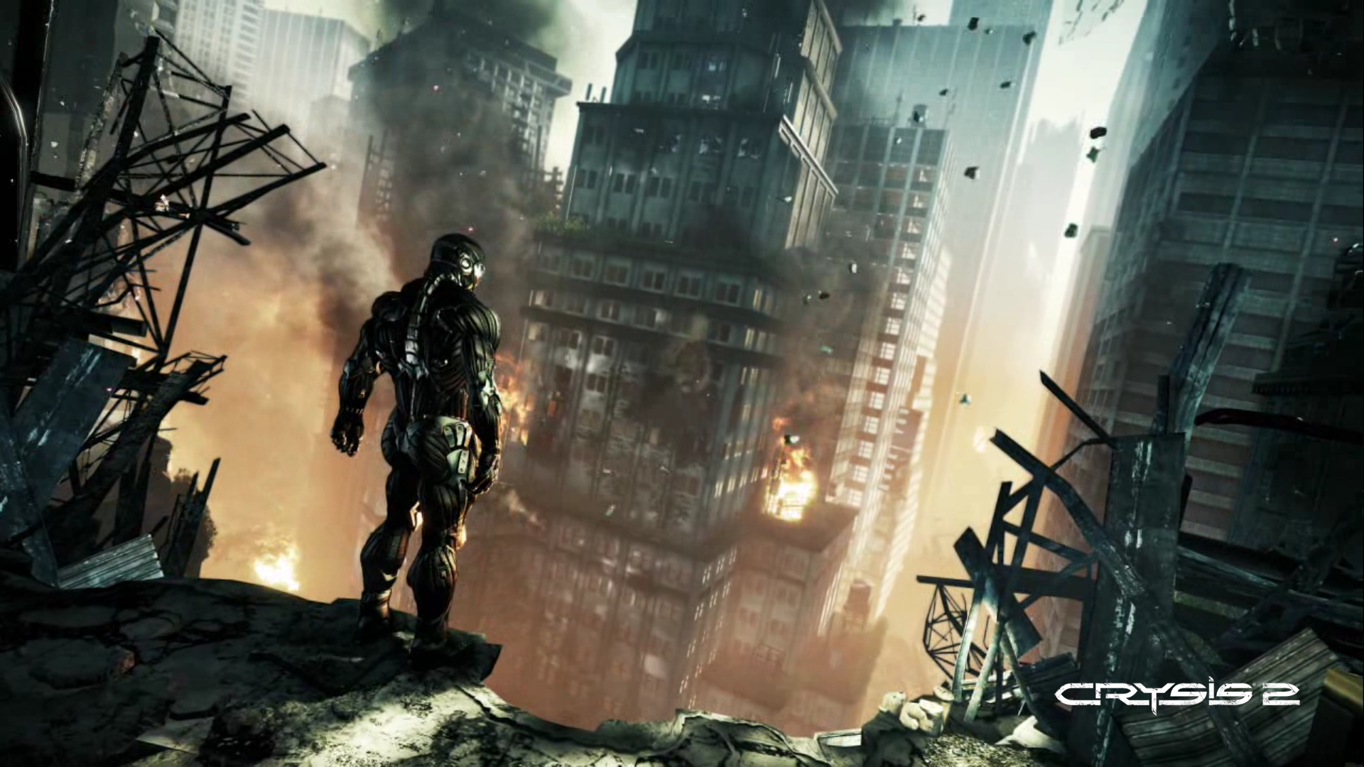 Crysis 2 Wallpaper Standing City HD Wallpaper Games Wallpapers 1920x1080