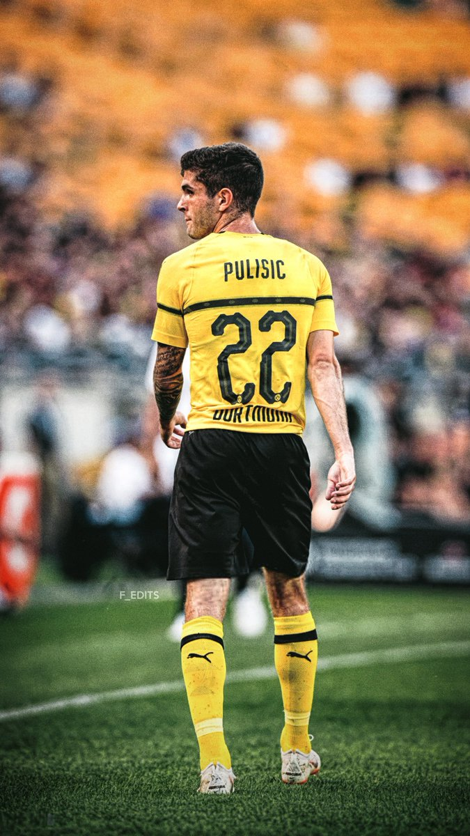 Fredrik on Twitter Christian Pulisic wallpapers cpulisic 10 BVB 675x1199