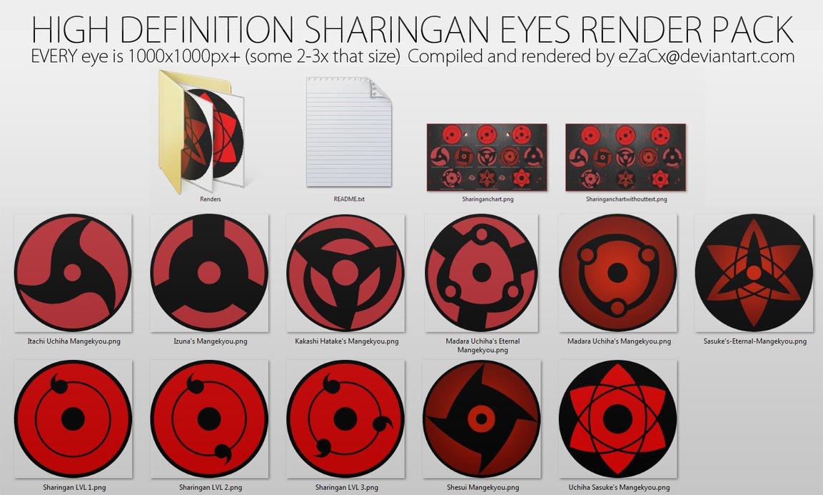 Uchiha Eyes Wallpaper