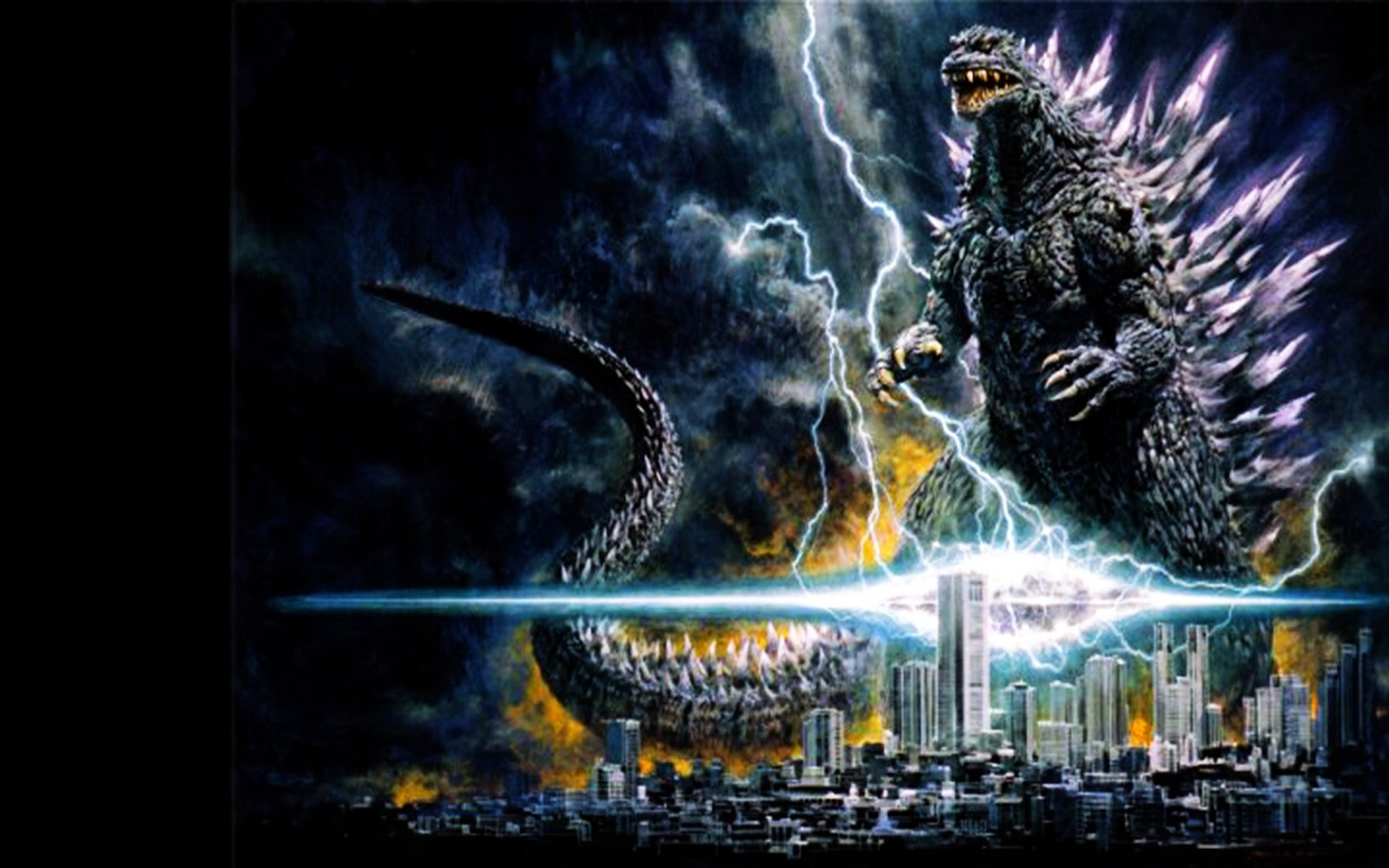 The Best HD Godzilla 2014 Wallpaper Touch iPhone 1600x1000