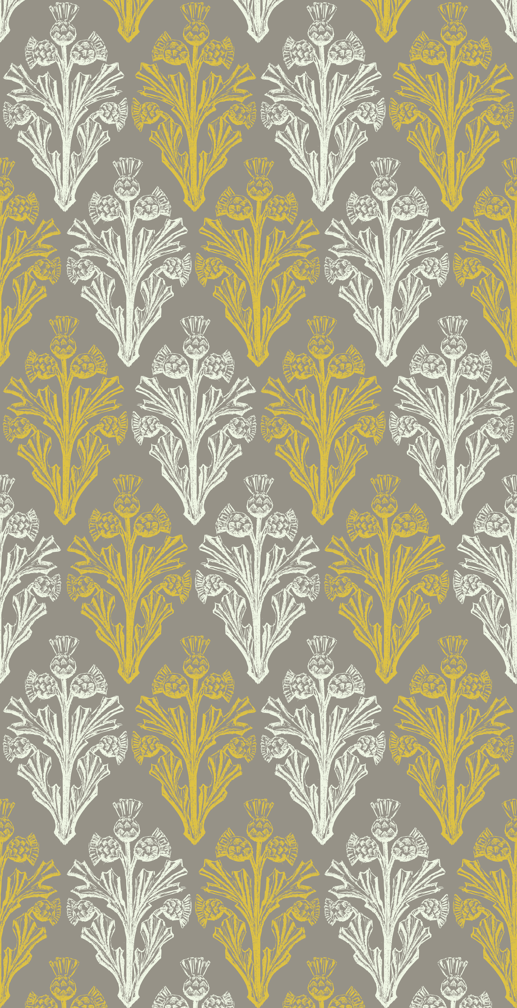Designed While Watching Braveheart The Original Thistle Image Was 1772x3454