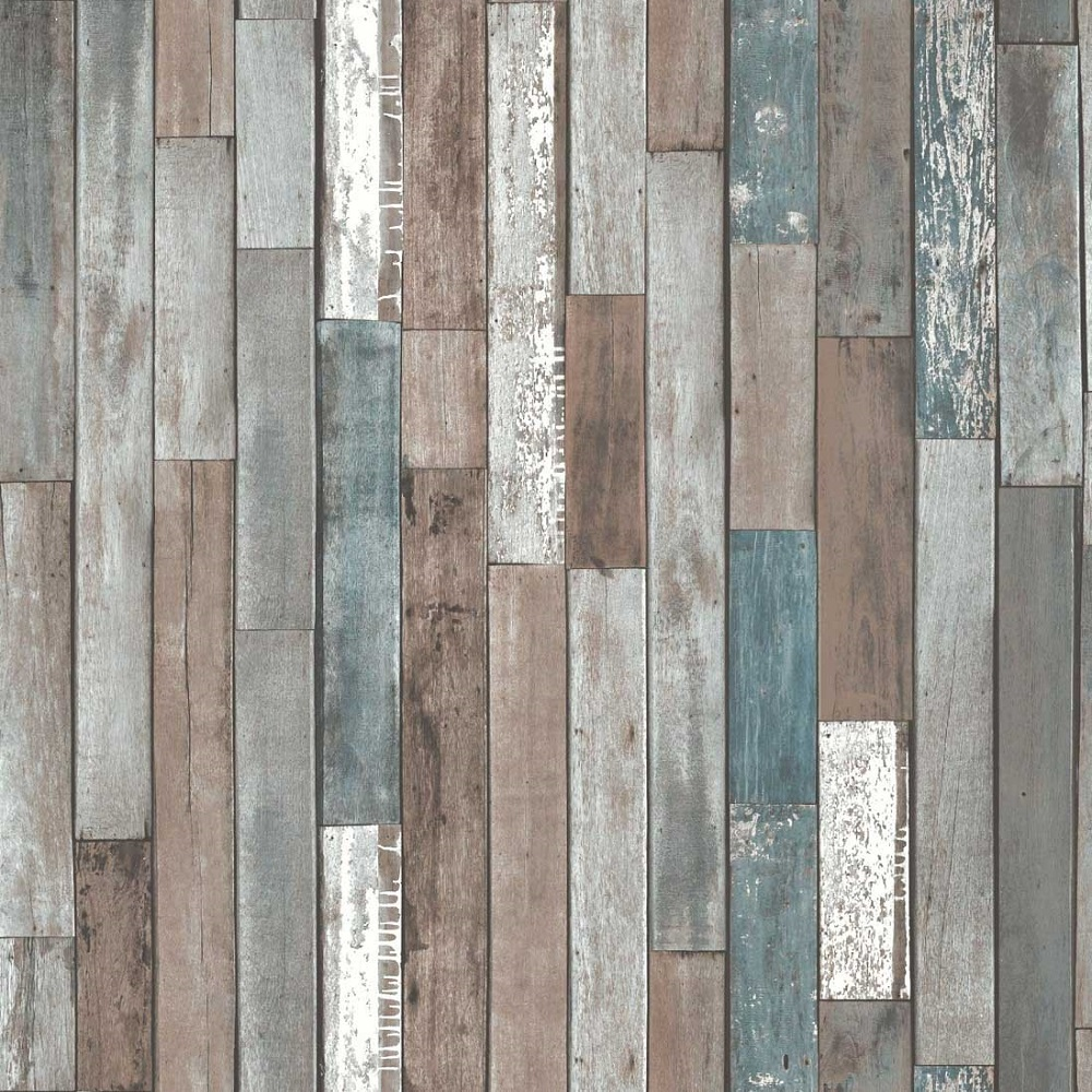 Fine Decor Reclaimed Wood Wallpaper   Multi FD40888 1000x1000