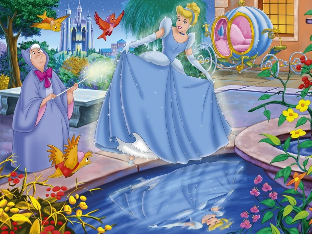 Cinderella Wallpaper   Classic Disney Wallpaper 6496223 1024x768