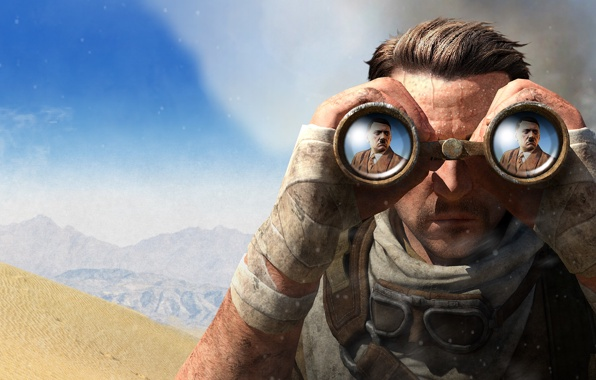 sniper elite sniper carl fairbairn karl fairburne wallpapers photos 596x380