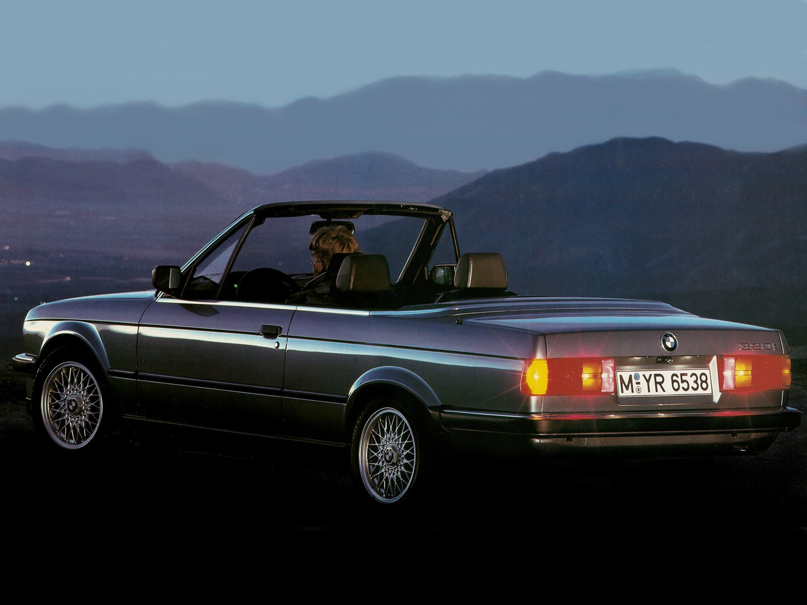 BMW 320i Cabrio E30 Wallpapers Car wallpapers HD 1600x1200