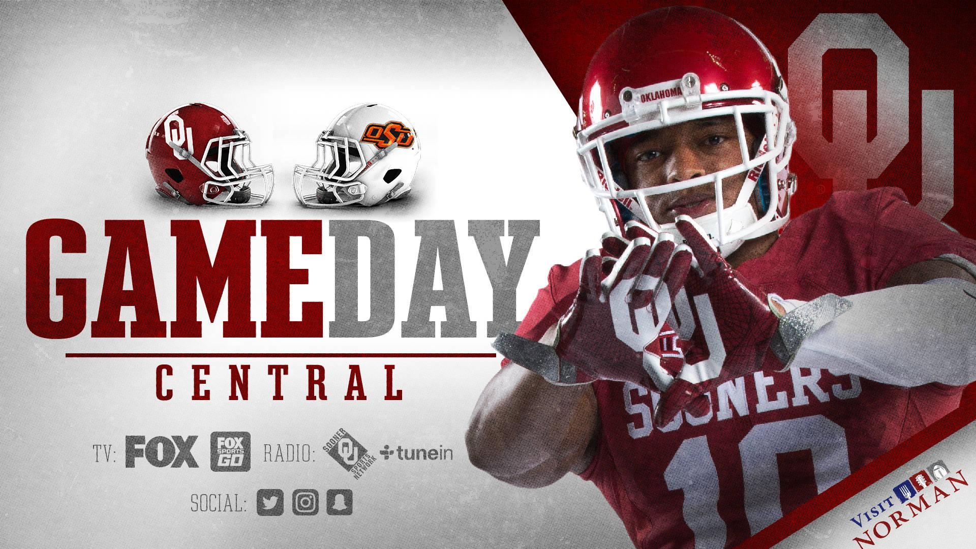 Gameday Central OU vs OSU   University of Oklahoma 1920x1080