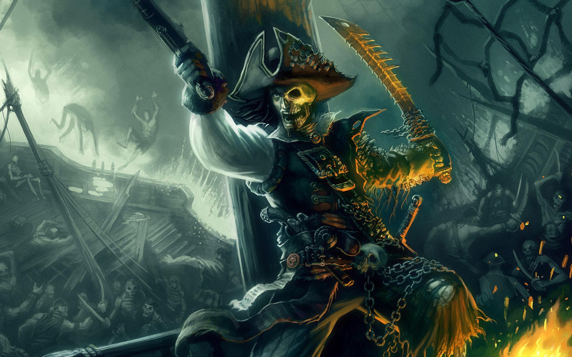 ... Wallpapers, Undead Pirate Desktop Wallpapers, Undead Pirate Desktop