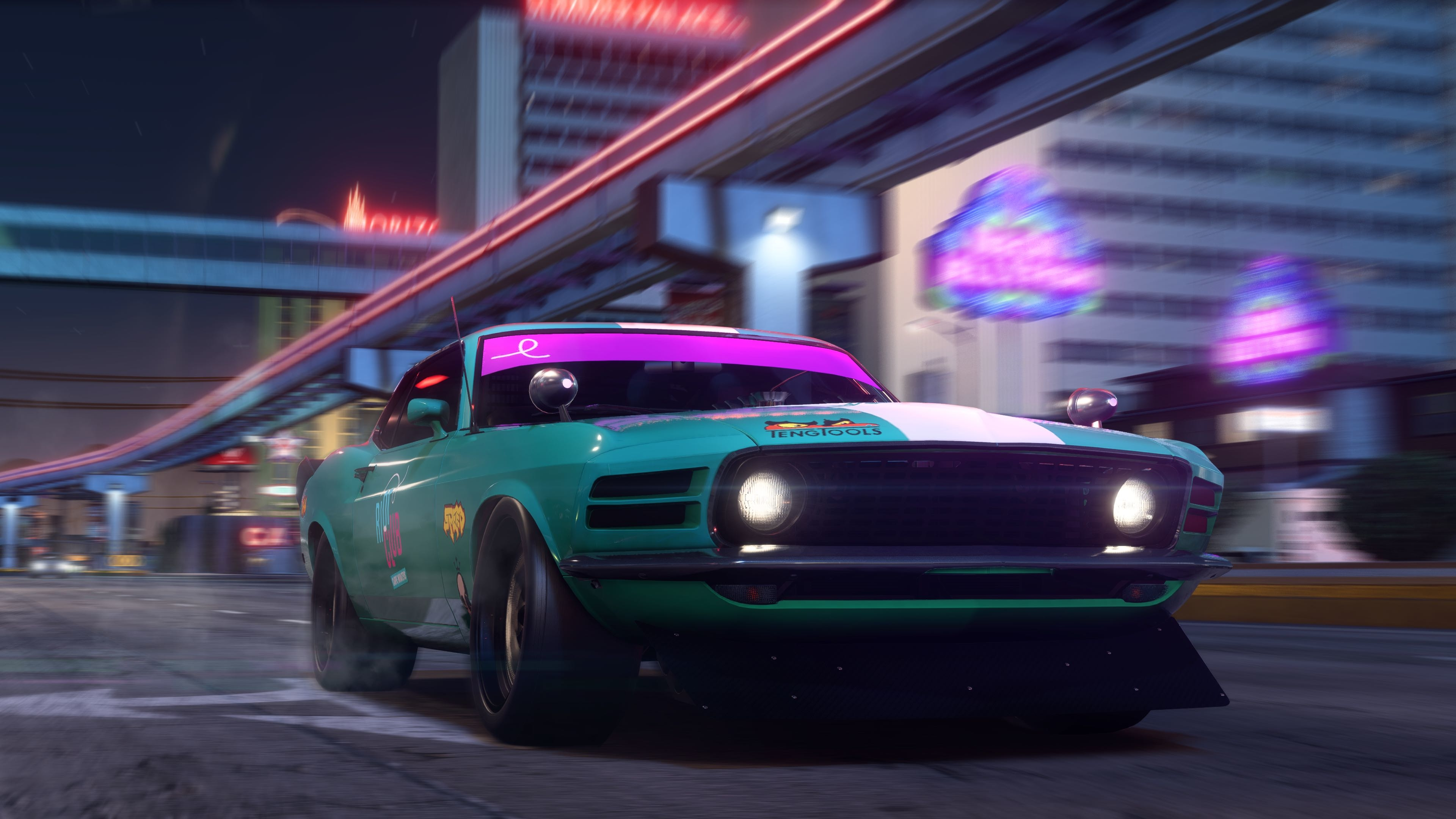 Riot Club Street Leagues Need For Speed Payback 2017 HD 3840x2160