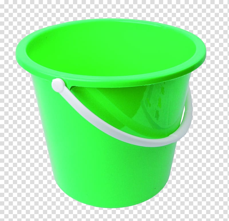 Mop bucket cart Plastic Bucket Background transparent background 800x774
