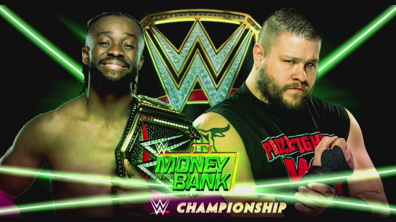 WWE Money in the bank 2019 Dream match card 1280x720