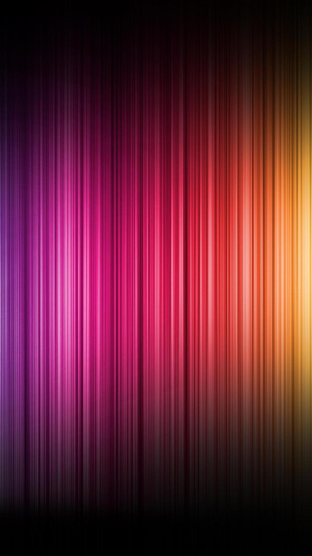 Download Wallpaper 1080x1920 color, spectrum, bands, vertical Sony ...
