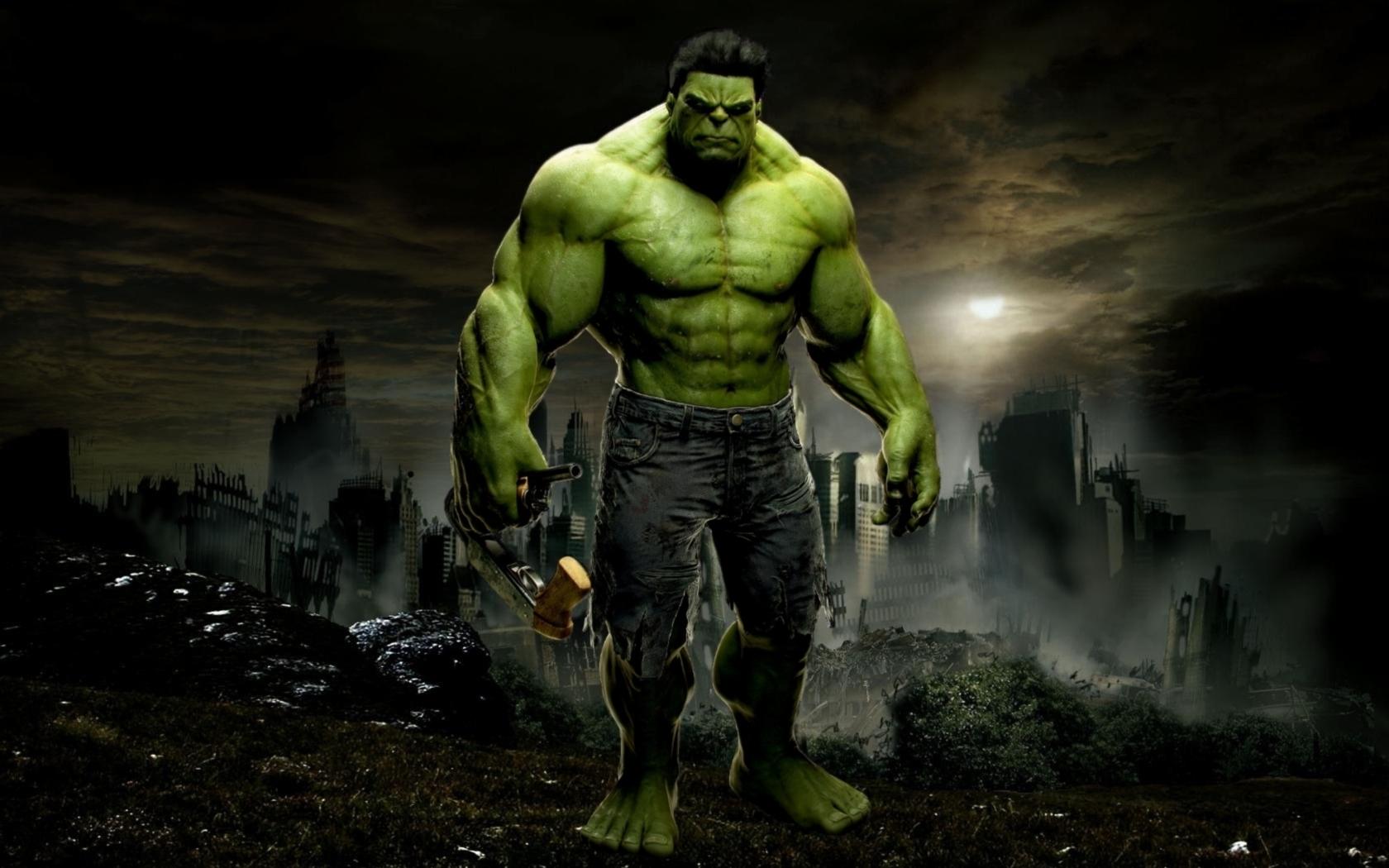 Nuevas imgenes HD de Hulk Fondos de pantalla de Hulk 1680x1050