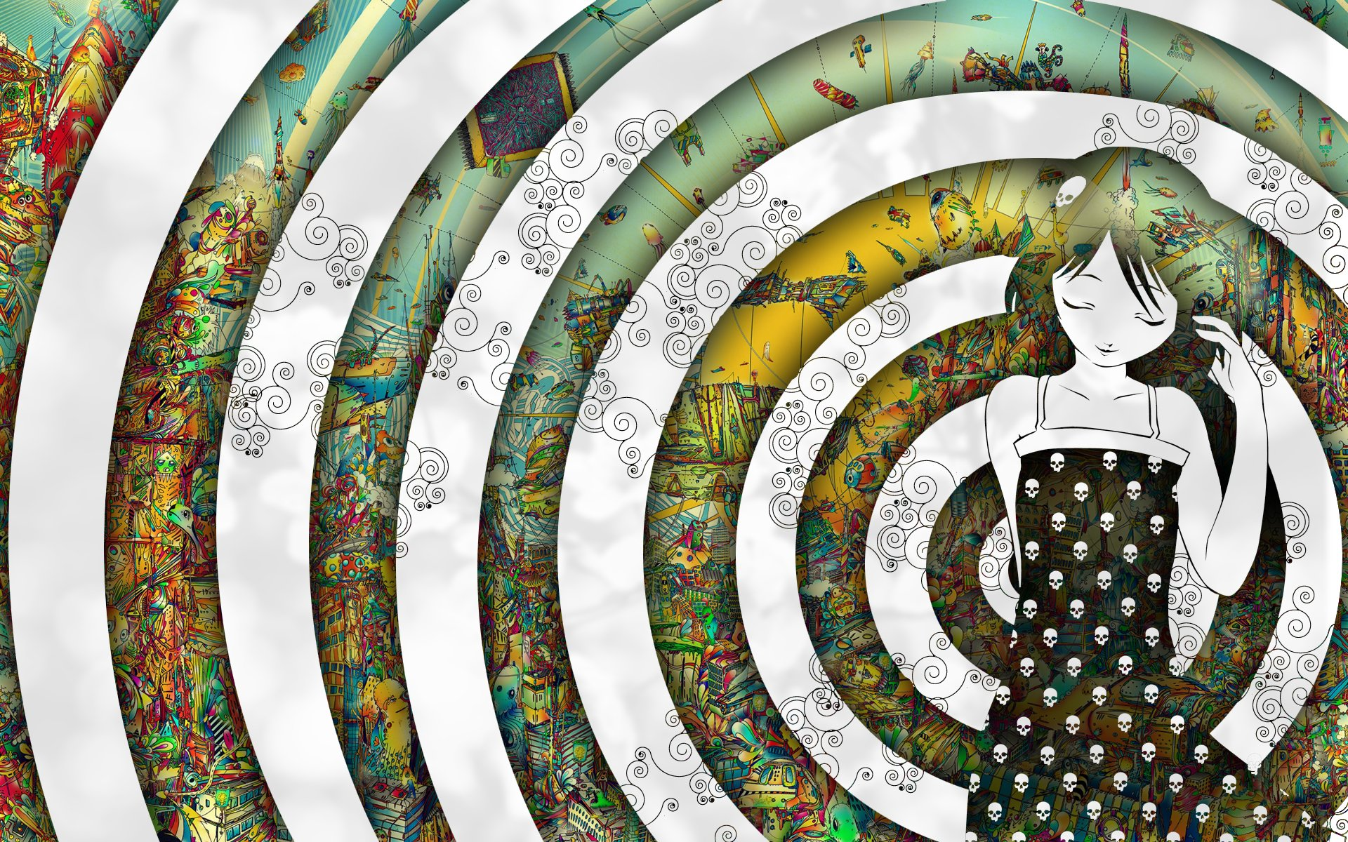 Download the Hypnotized Colors Wallpaper Hypnotized Colors iPhone 1920x1200