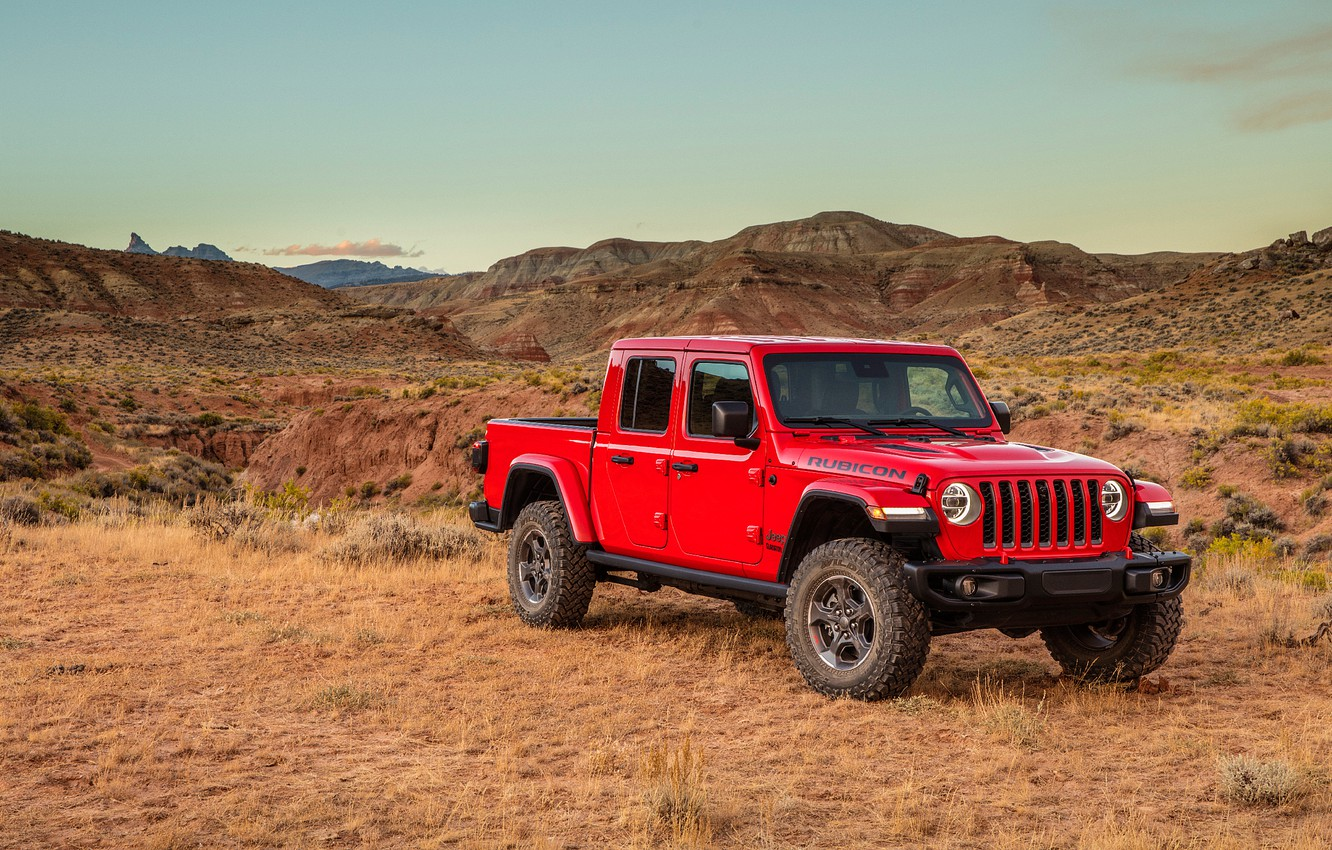 Wallpaper Gladiator Jeep 2019 Jeep Gladiator Rubicon Rubicon 1332x850