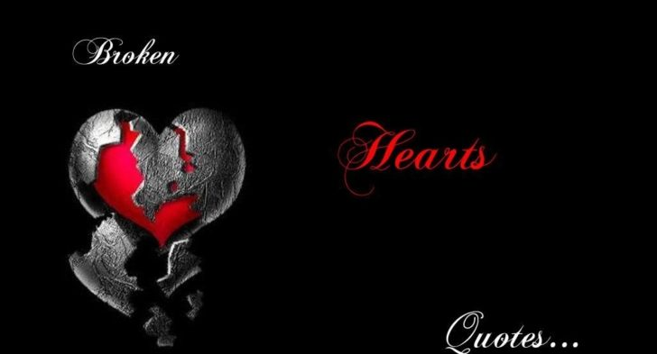 Broken Heart Girl Quote Wallpaper   QUOTES LOVE 728x393