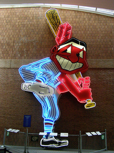 Chief Wahoo Sign http://www.flickr.com/photos/soul_motor/2449156327/