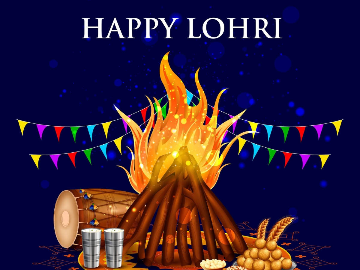 Happy Lohri 2020 Images Cards Greetings Quotes and Wallpapers 1200x900