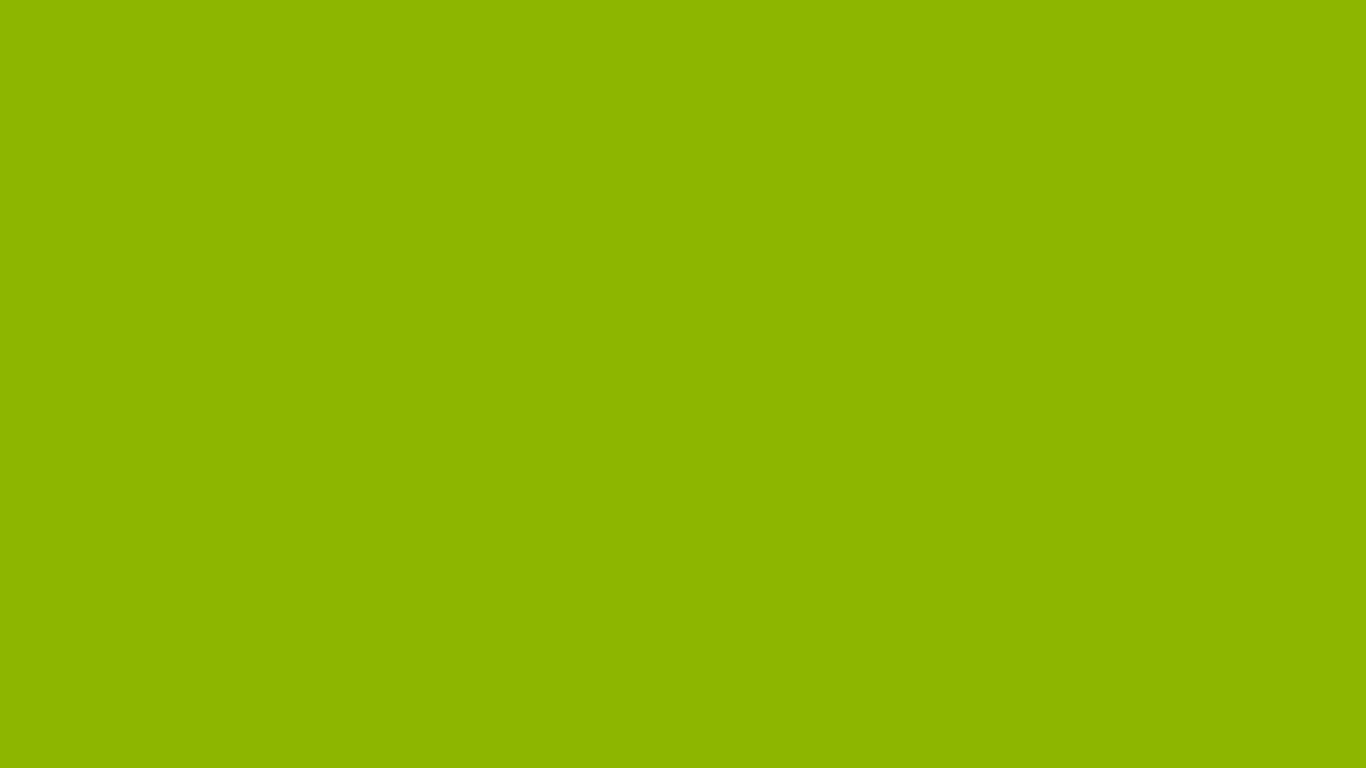 1366x768 resolution Apple Green solid color background view and 1366x768