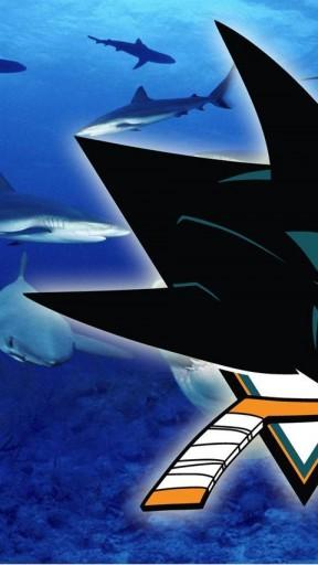 San Jose Sharks 4 Iphone Wallpaper 288x512