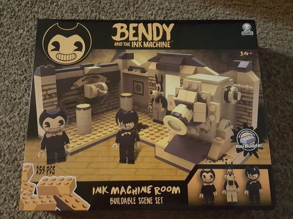 ULTRA RARE Bendy and the Ink Machine LEGO SET Ink Room Faiths 1000x748