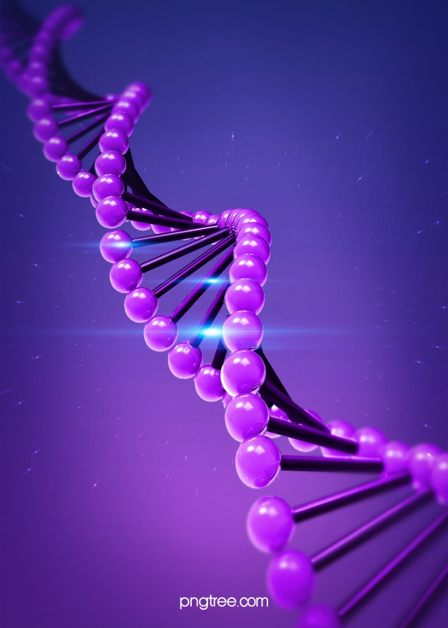 The Simplified Background Of Purple Photosensitive Creative Dna 640x897