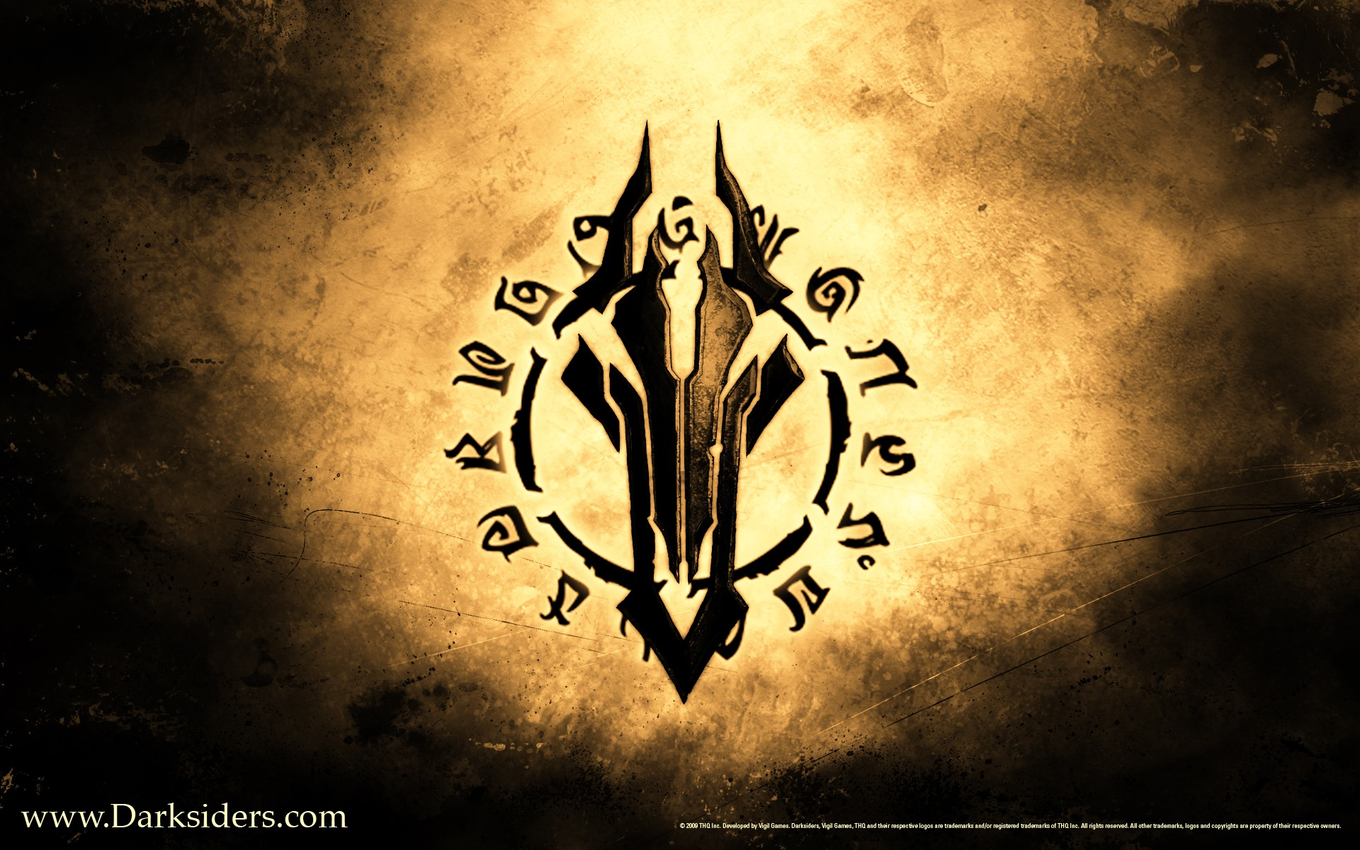 Darksiders   Glyph desktop wallpaper 1920x1200