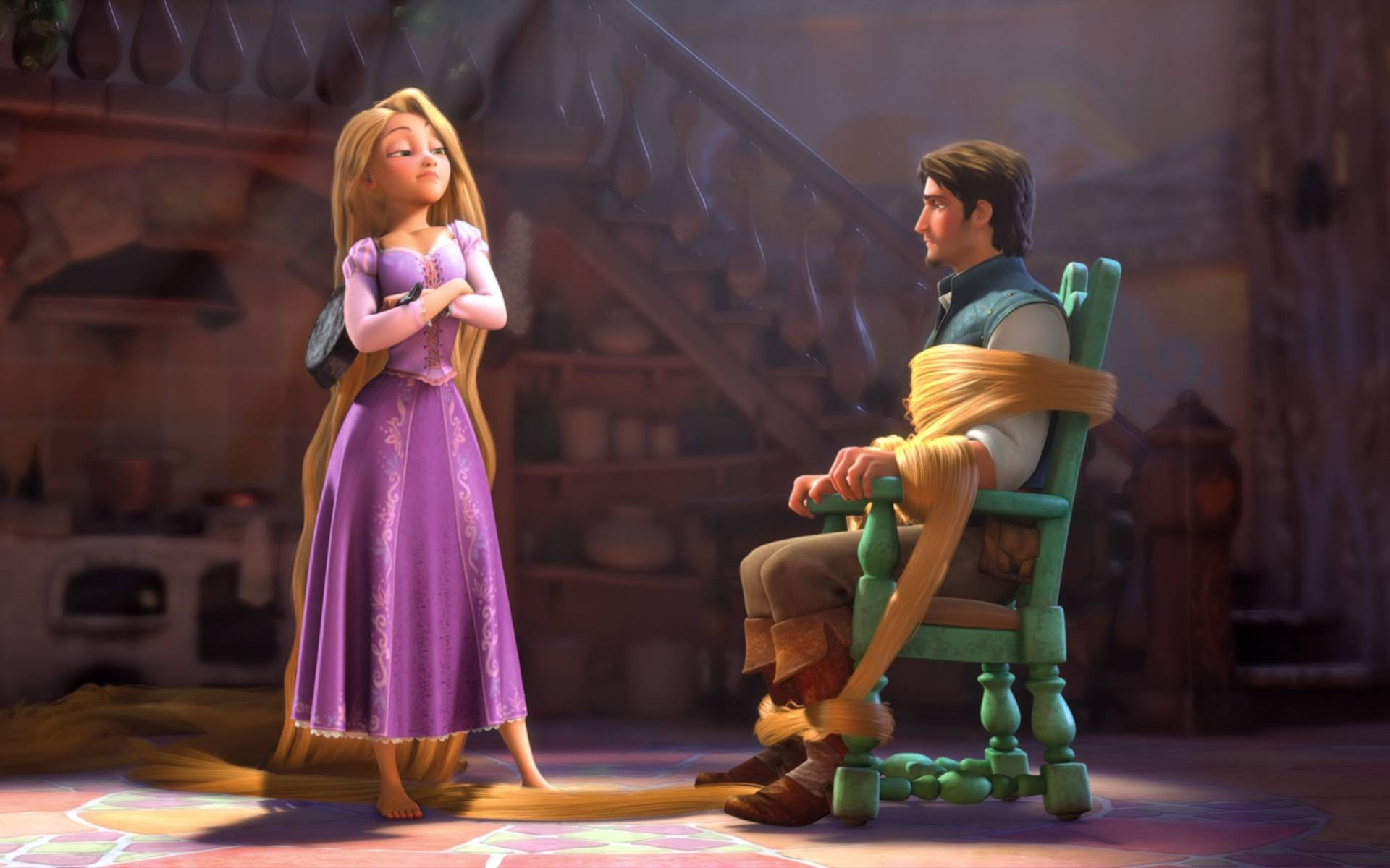 Tangled Rapunzel And Flynn Rider 1920x1200