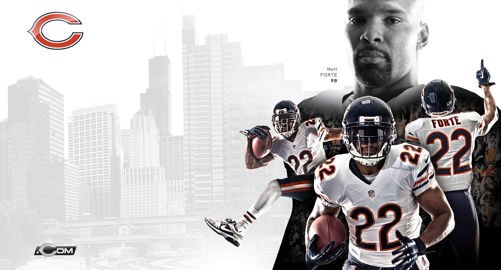Chicago Bears 2014 Wallpapers 1600x864