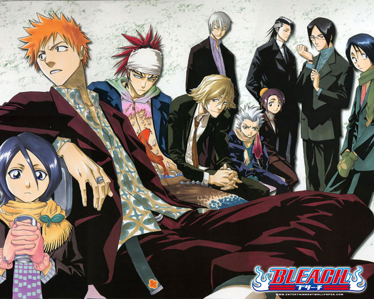 Anime Manga 4 All Bleach Anime Wallpapers 1280x1024