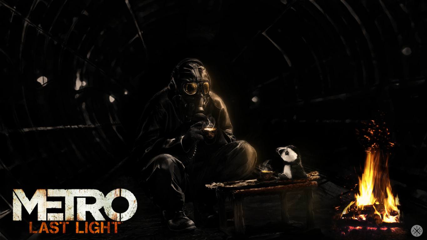 Wallpapers for METRO Last light by Live Design 1 by LiveDonbass on 1366x768
