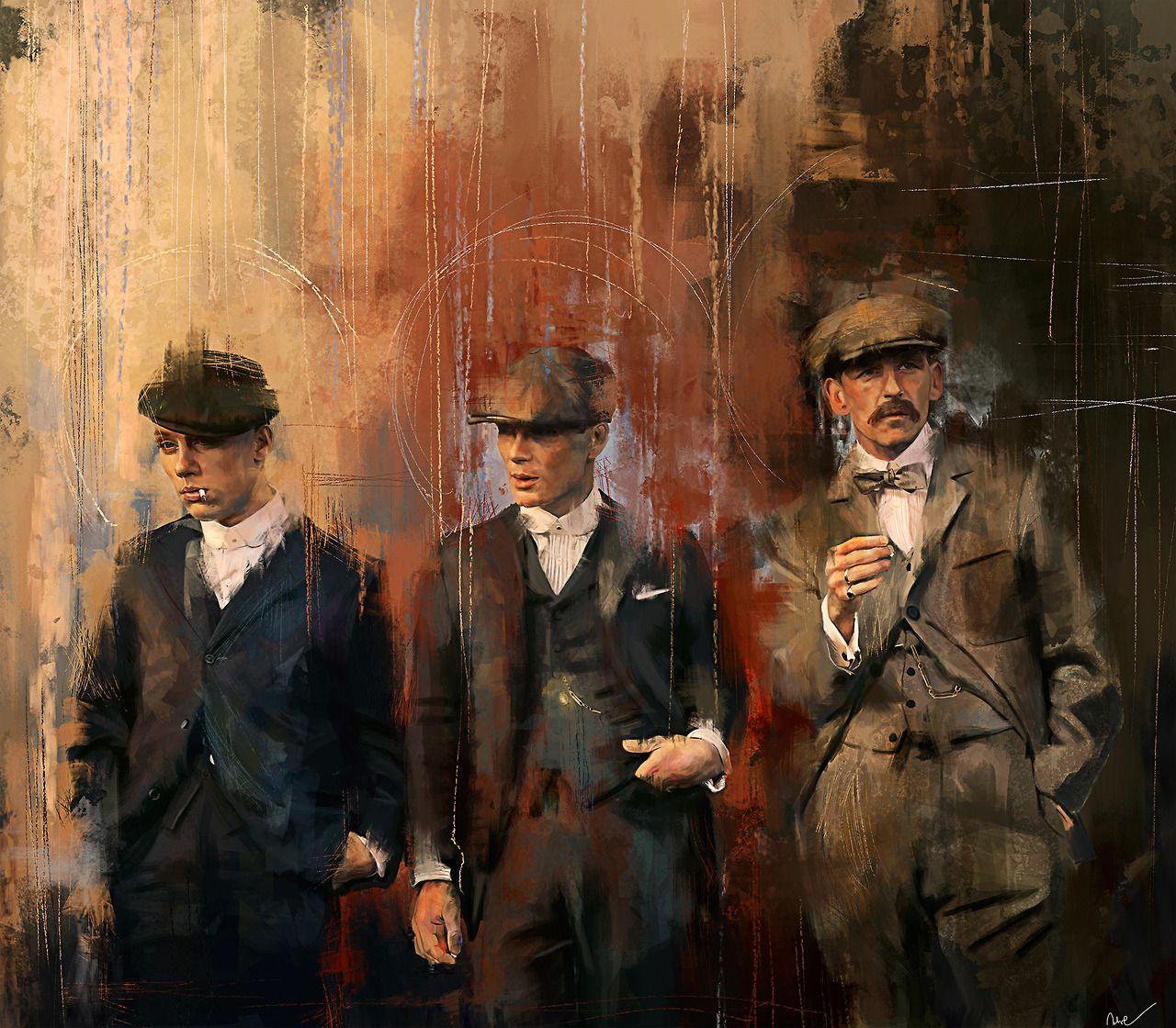 Peaky Blinders John Thomas Arthur Shelby [ Peaky Blinders 1280x1120
