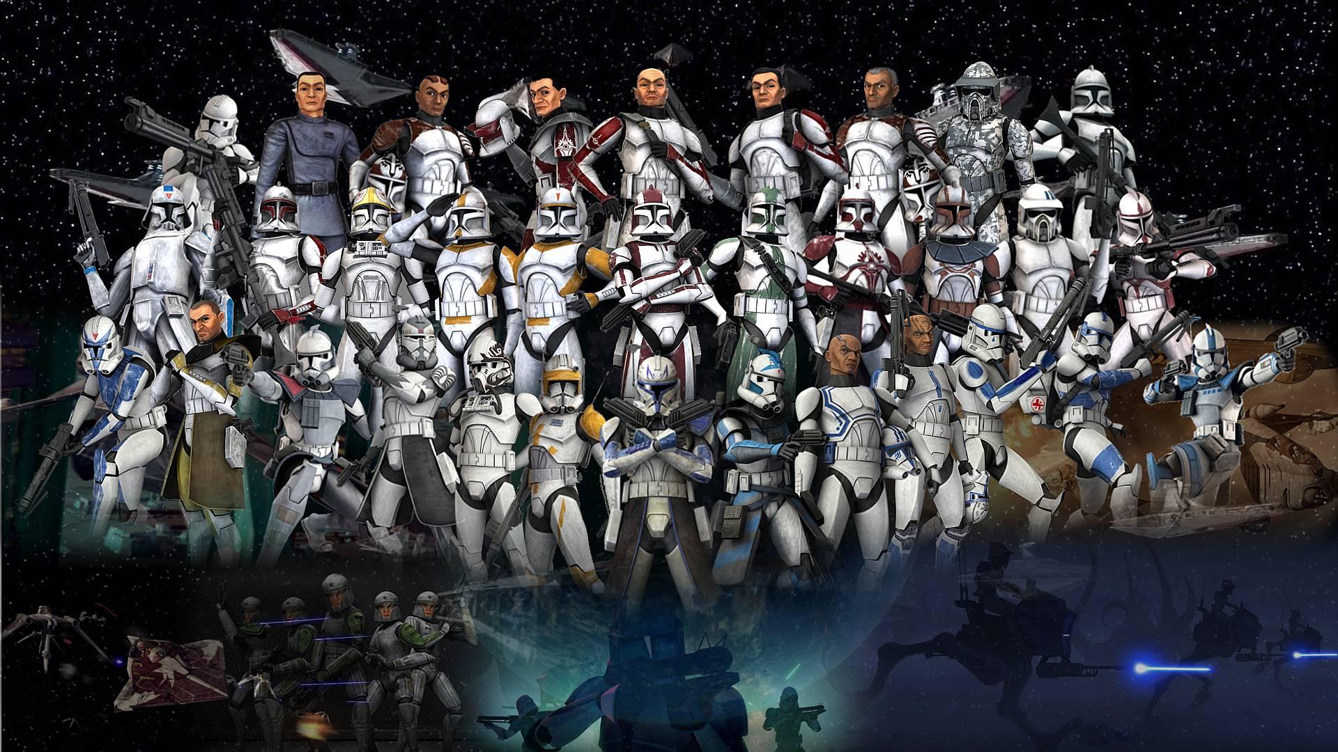 Star Wars Clone Trooper Wallpapers 1920x1080