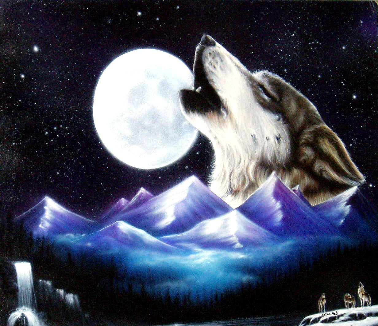 Wolf Howling At The Moon Anime Download