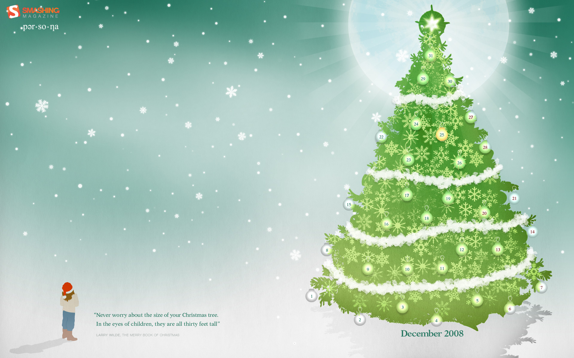 christmas calendar backgrounds - Calendar