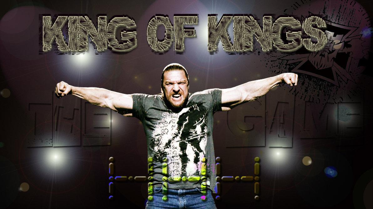 Triple H King of Kings by cozzie333 1192x670