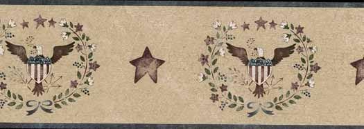Blue Patriotic Eagle Wallpaper Border Home Sweet Home Pinterest 525x187