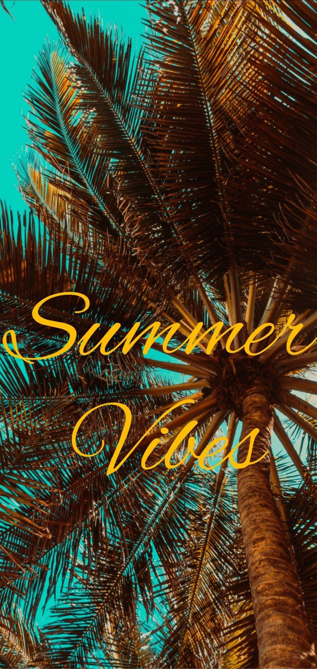 Summer vibes wallpaper Wallpaper iphone summer Mood wallpaper 1080x2280