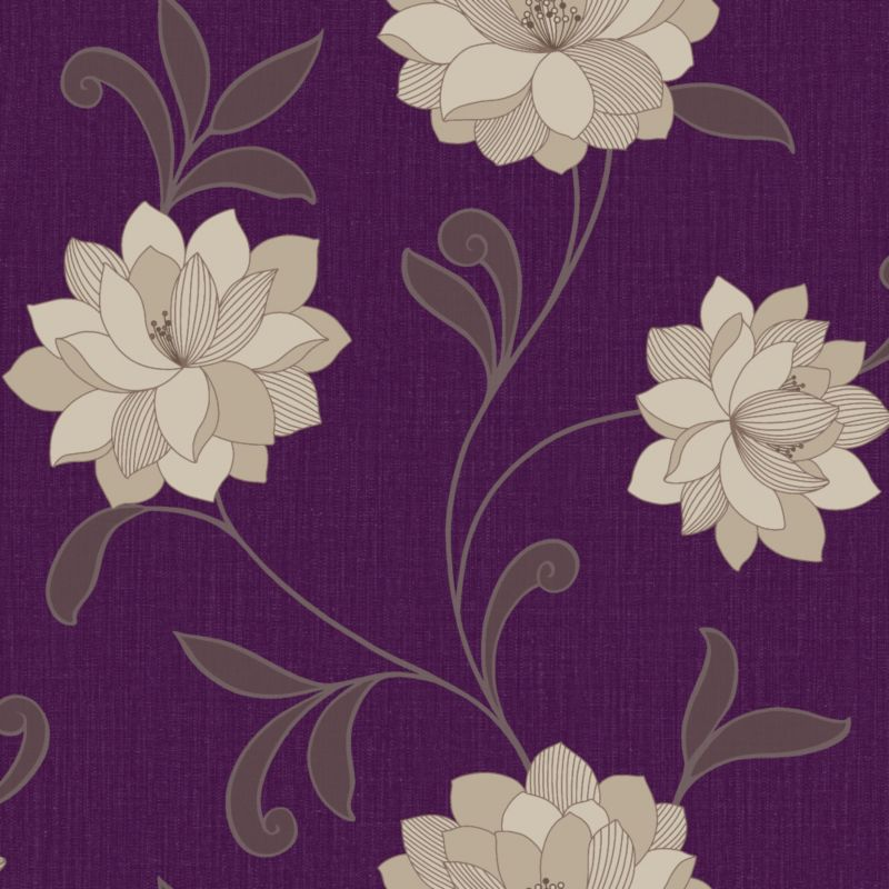 Free Download Valencia Wallpaper In Purple By Arthouse Vintage Customer 800x800 For Your Desktop Mobile Tablet Explore 48 B And Q Wallpaper Can I Paint Over Wallpaper B Q Wallpaper