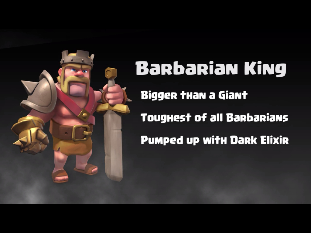 Clash Of Clans Barbarian King Wallpaper Barbarian king 1024x768