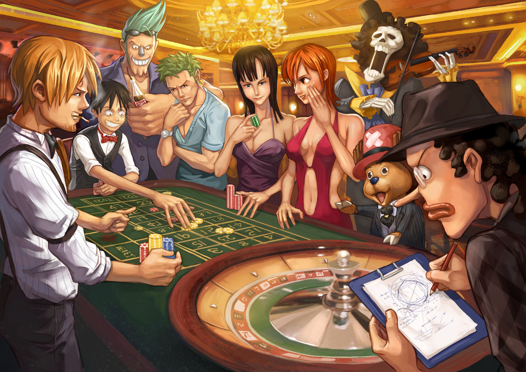 Full Anime One Piece Wallpaper 1800x1273
