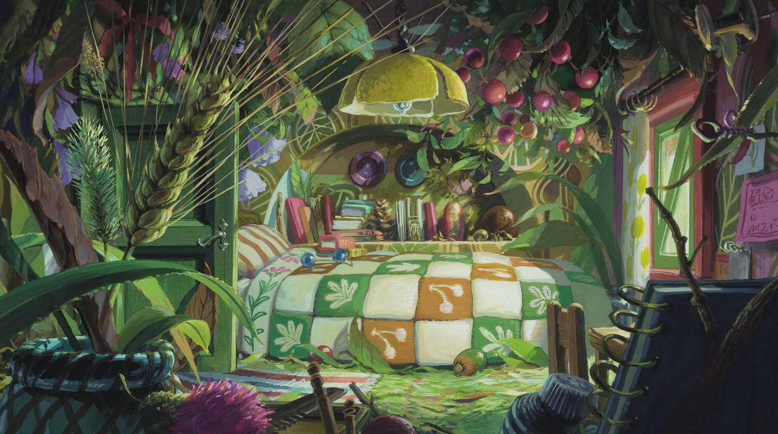 The Tagline The Secret World of Arrietty 1600x893