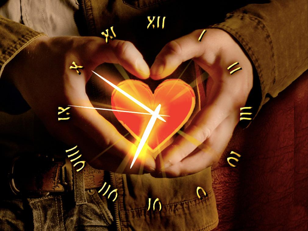heart clock live wallpaper for windows love heart clock screenshots 1010x758