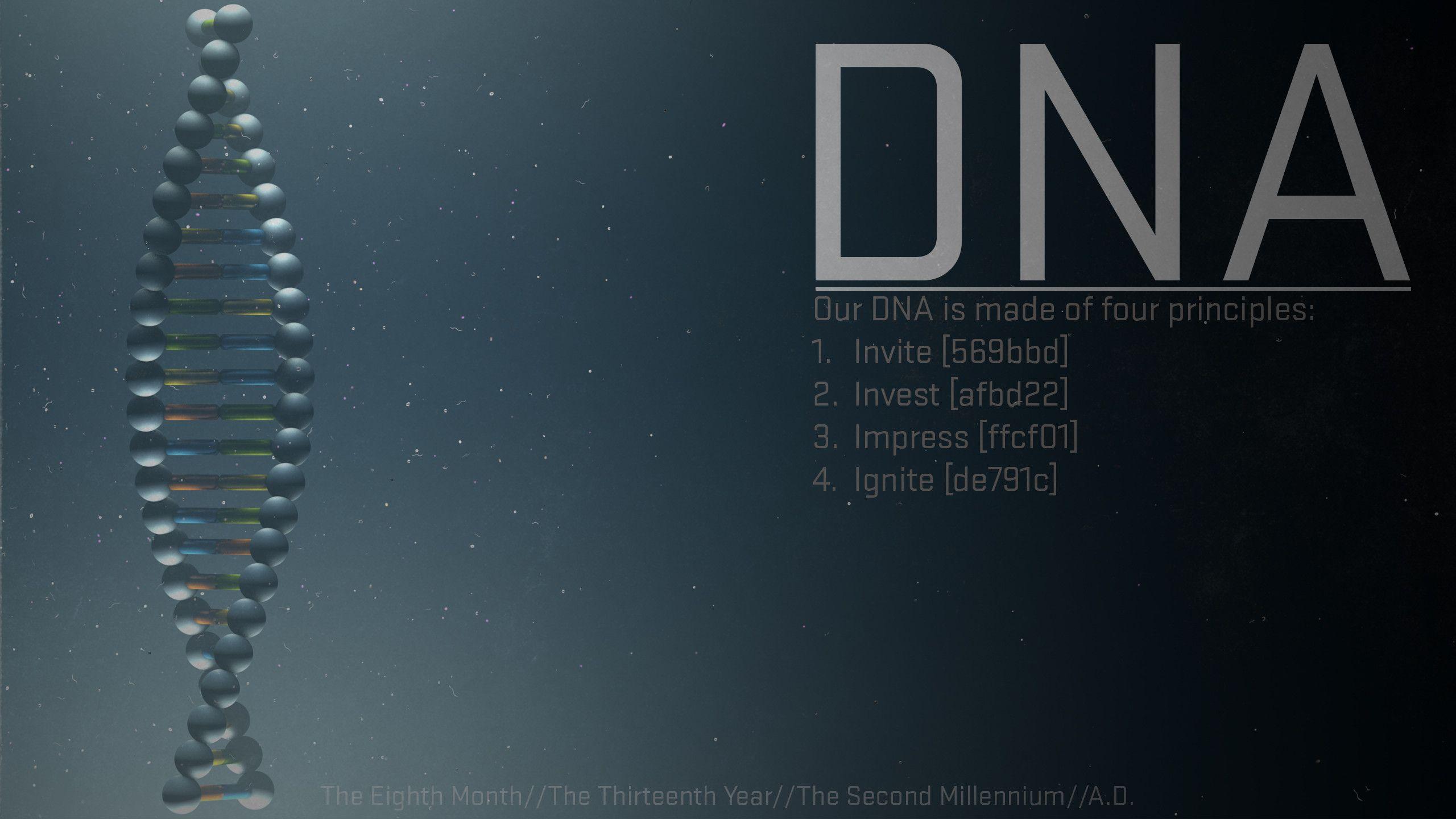 Dna Wallpaper Large HD Wallpaper Database 2560x1440
