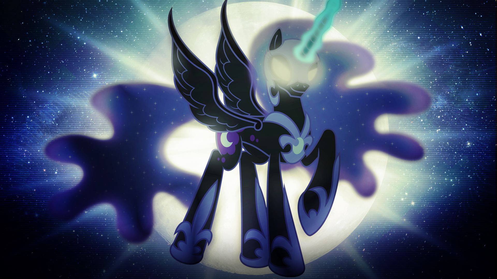 Mlp Nightmare Moon Desktop Wallpaper Wallpapersafari