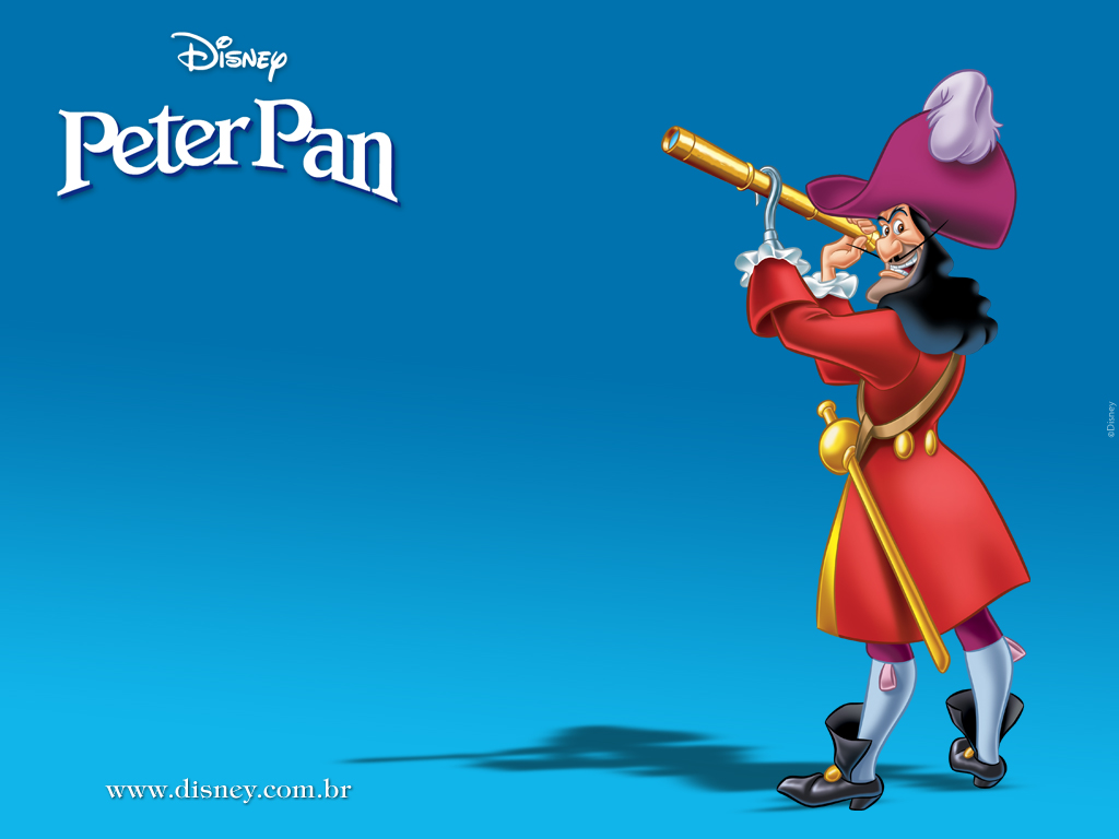 Disneys Peter Pan images Captain Hook HD wallpaper and background 1024x768