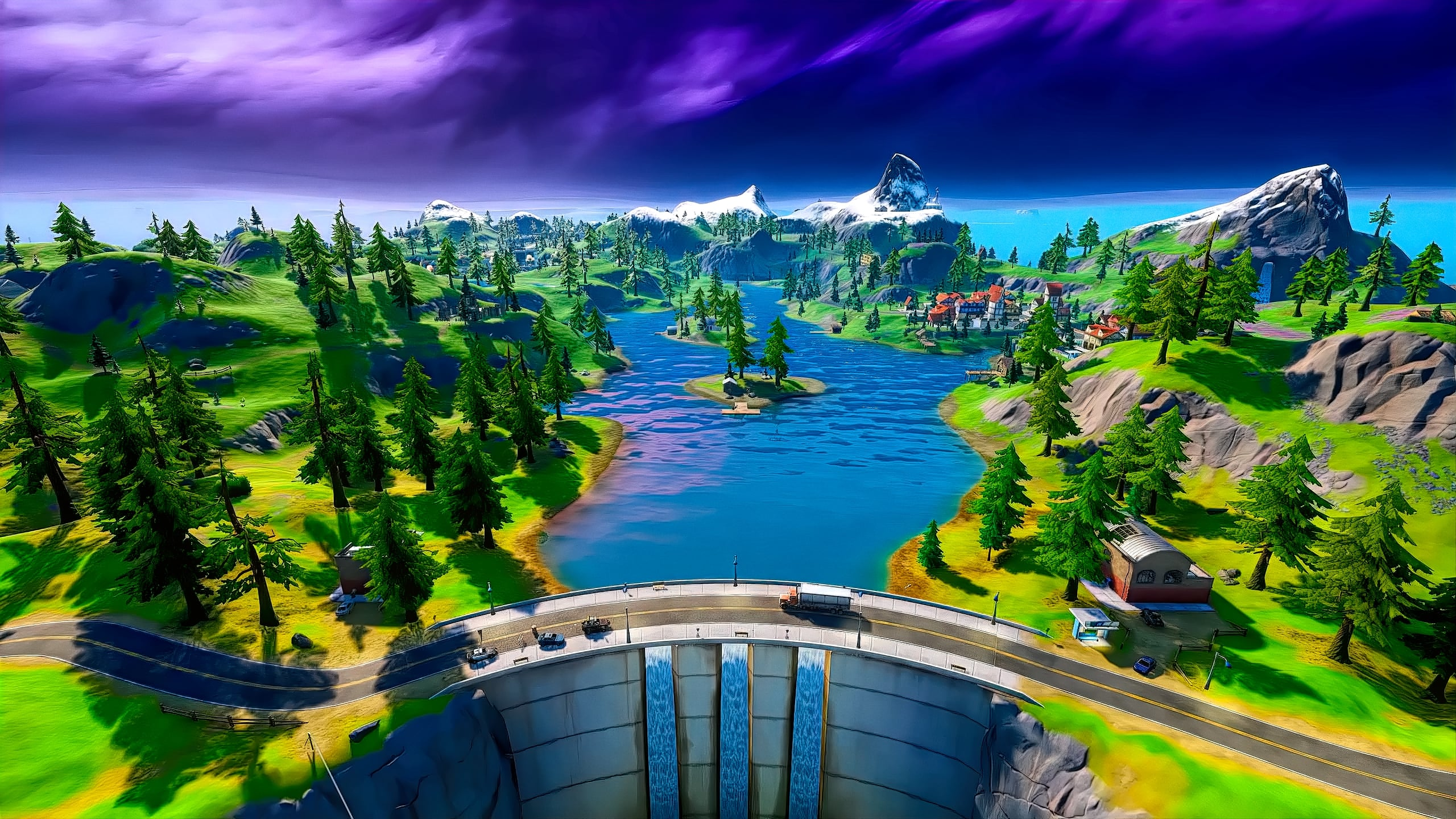 Enter In The New World As Fortnite Chapter 2 Goes Live L2pbomb 2560x1440