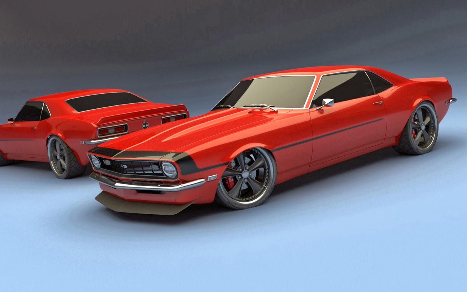 Cars Camaro Car Muscle Chevrolet Concept Wallpaper 1600x1000