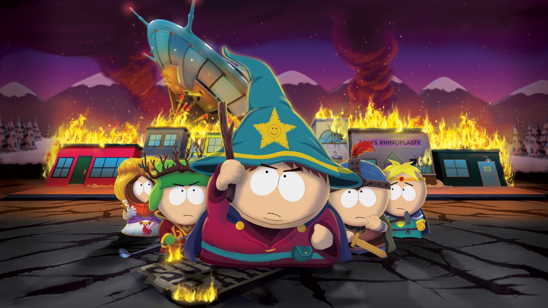 Canadian Online Gamers South Park Stick of Truth HD Wallpaper 1920x1080
